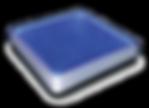 ソーラーブリック(ブルー角型200)