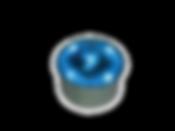 ソーラーブリック(ブルー丸型80)