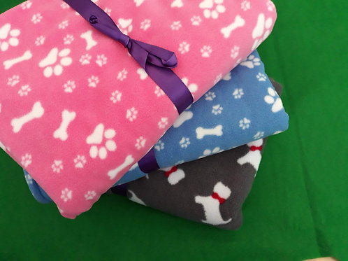Super Soft Fleece Dog Blanket - Large - Click to see our full range.