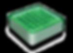 ソーラーブリック(グリーン角型100)