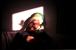 towel portrait