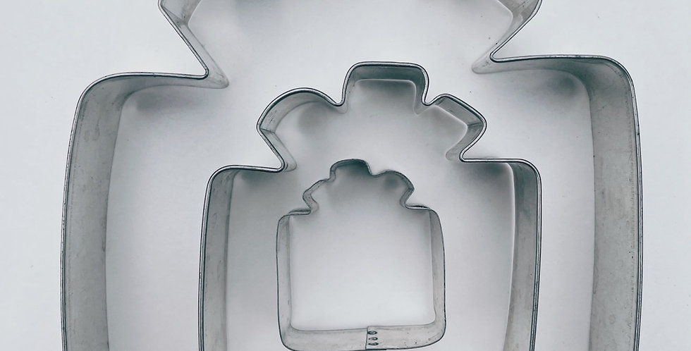 Assorted Sizes Presents Cookie Cutter Set