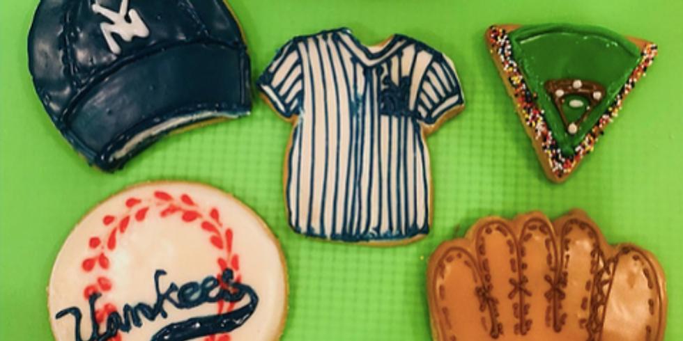 Cookie Decorating! Baseball season is open!