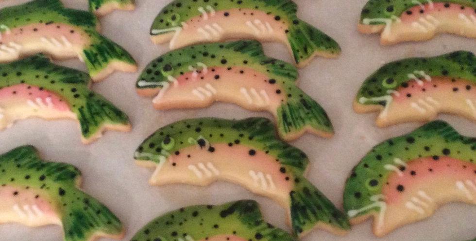 Fish Cookies (One Dozen)