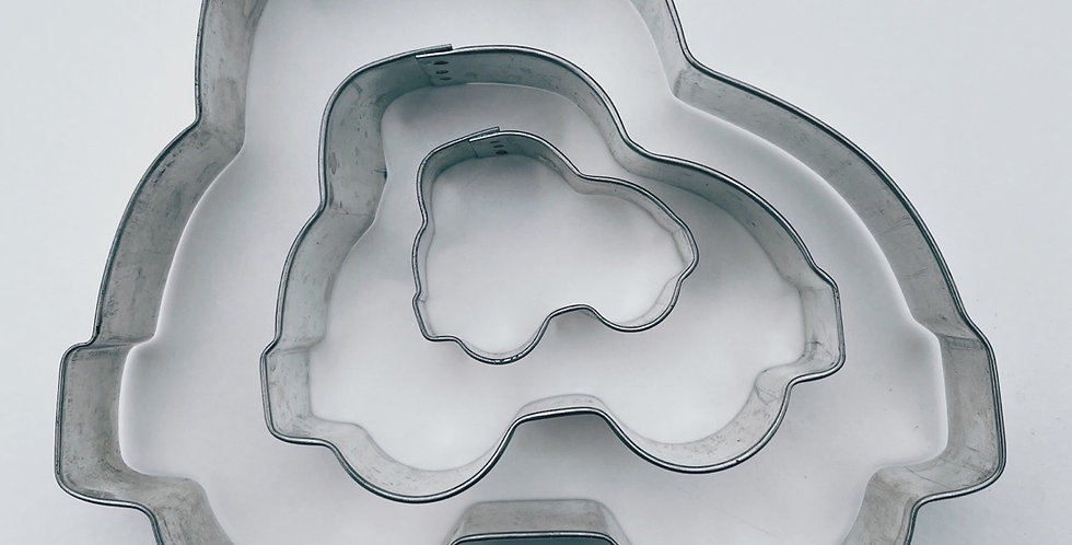 Assorted Sizes Car Cookie Cutter Set