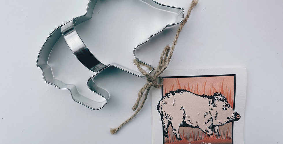 Javelina Cookie Cutter