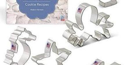 Ann Clark Cookie Cutters 5-Piece Ocean Set