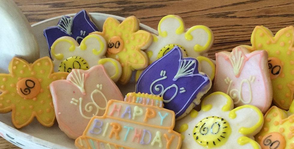 Birthday Bouquet Cookie Set