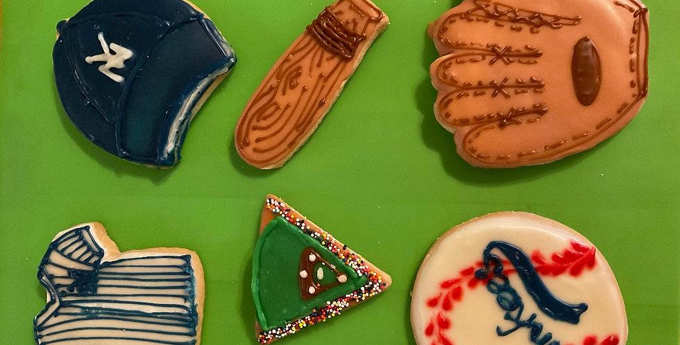 Baseball Cookie Set