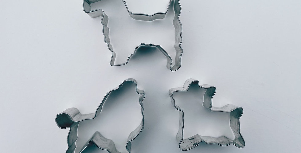 Assorted Dog Breed Cookie Cutter Set