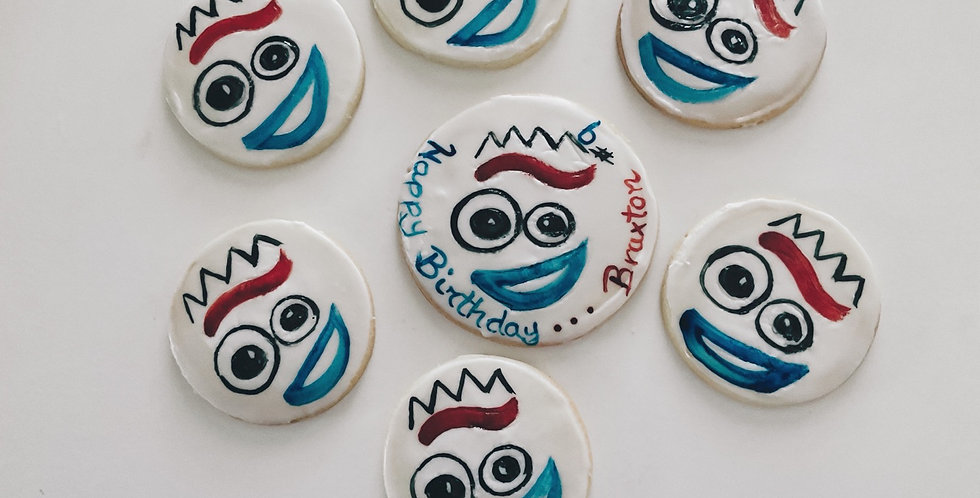 Forky Cookies (One Dozen)