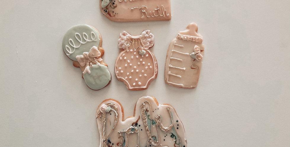 Baby Shower Cookie Set (One Dozen)