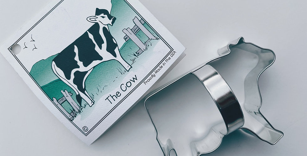 The Cow Cookie Cutter