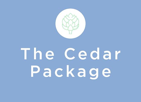 """Enhanced Start Up """"Cedar"""" Package"""