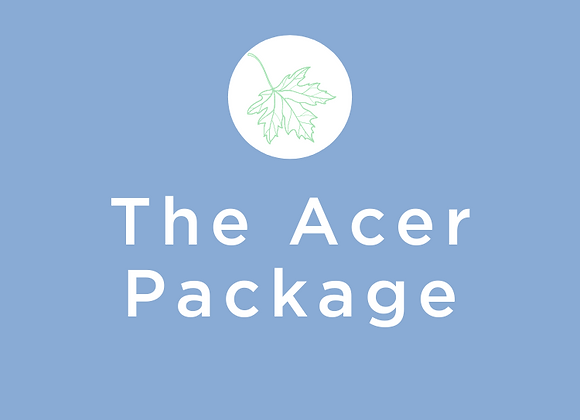 "Enhanced Start Up ""Acer"" Package"