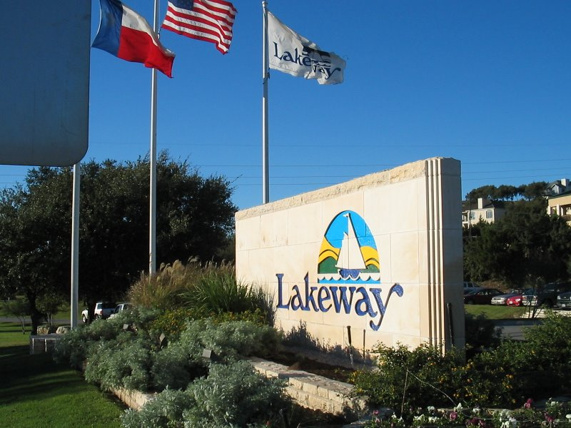 City of Lakeway Painted Monument