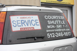 America's Service Perforated Window