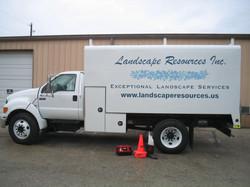 Landscape Resources Work Vehicle