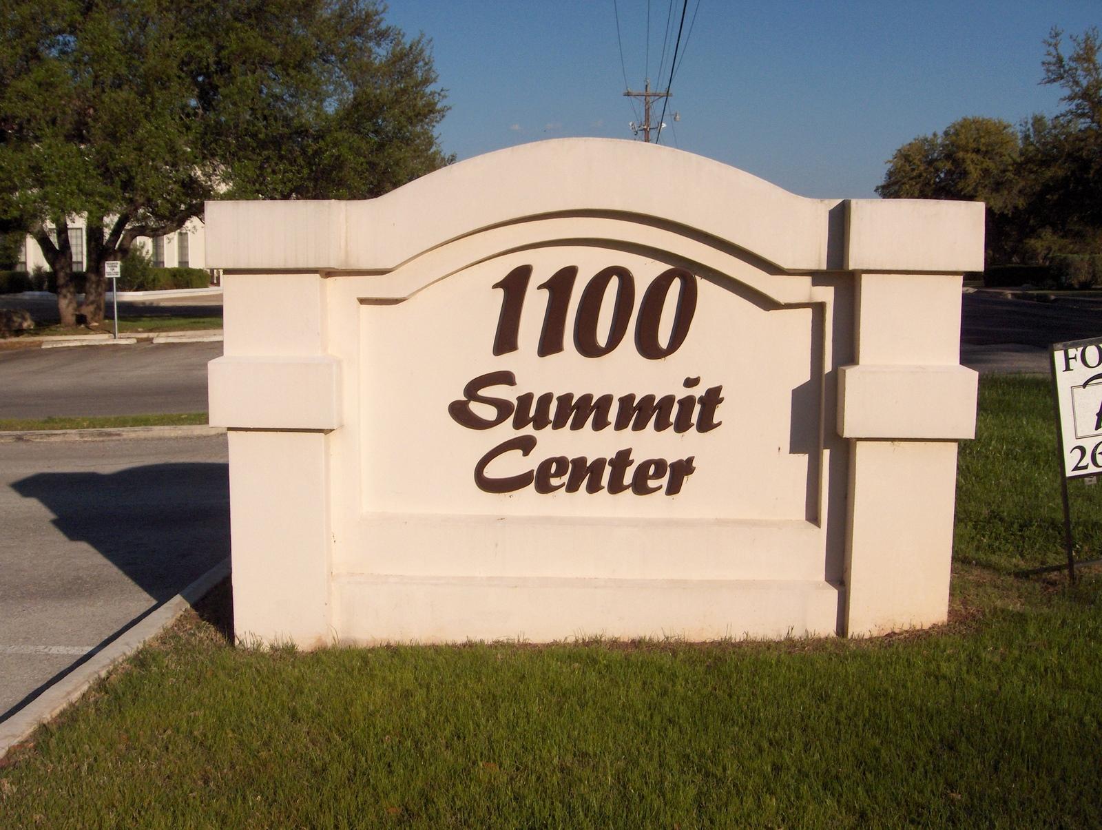Summit Center Monument
