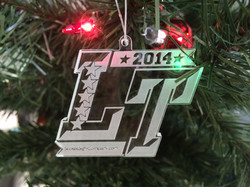 Lake Travis Christmas Ornament