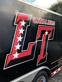 Lake Travis Football -- Trailer Graphics