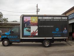 Elements Box Truck Vinyl Wrap
