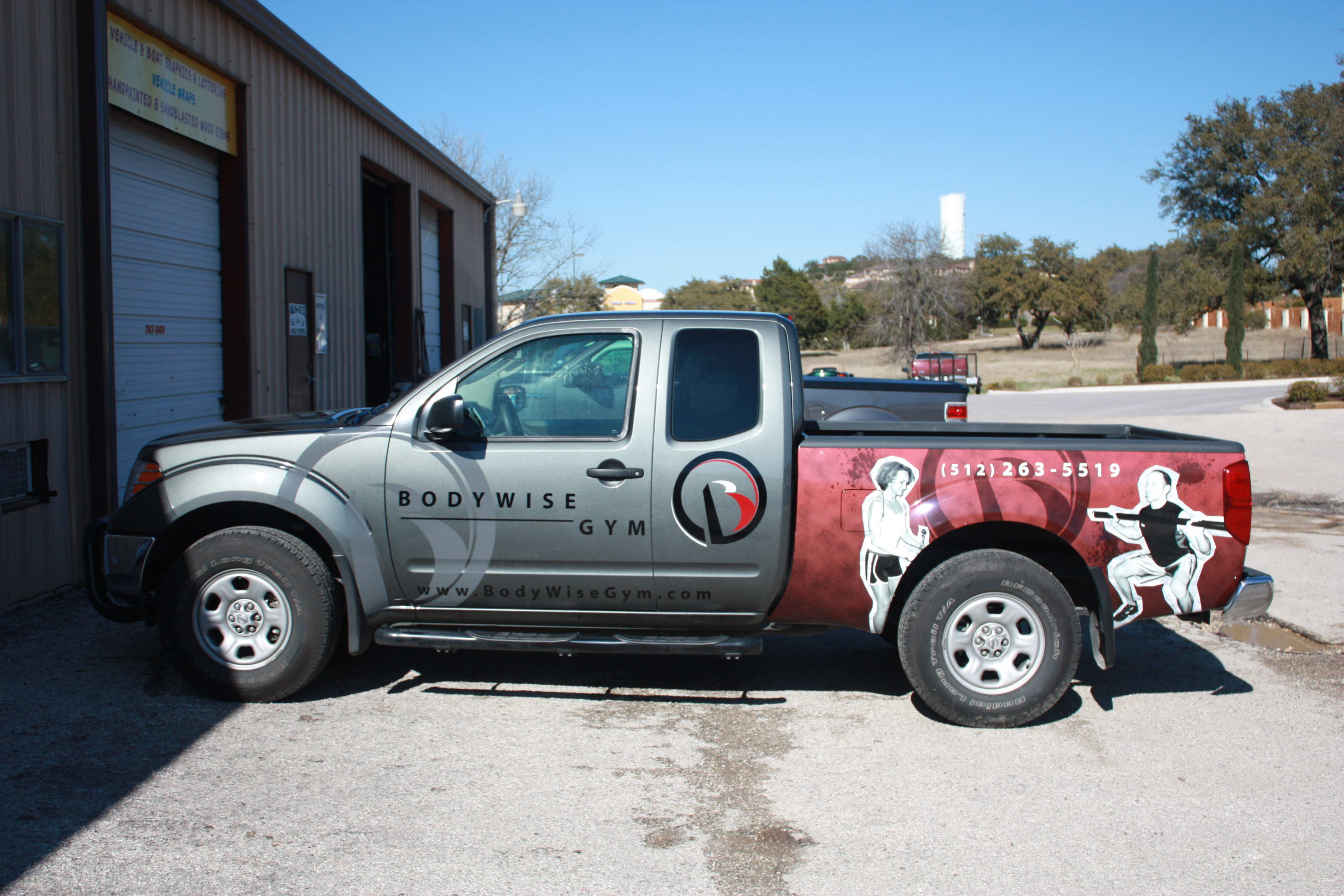 Graphics and Bed Wrap Vinyl