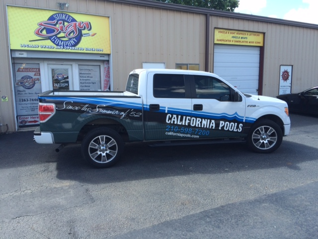 California Pools Partial Wrap