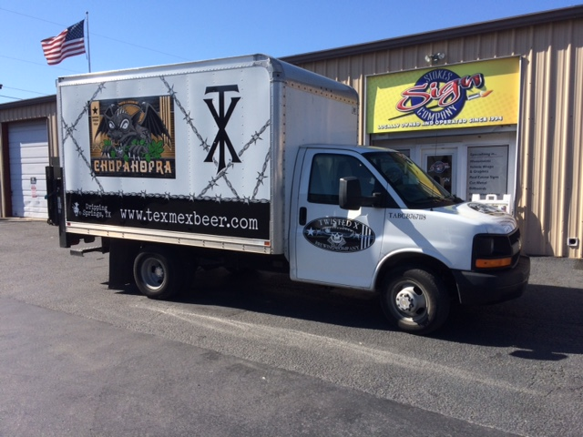 Twisted X Box Truck Vinyl Wrap