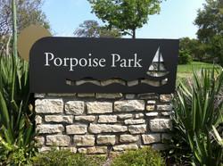 Porpoise Park Monument