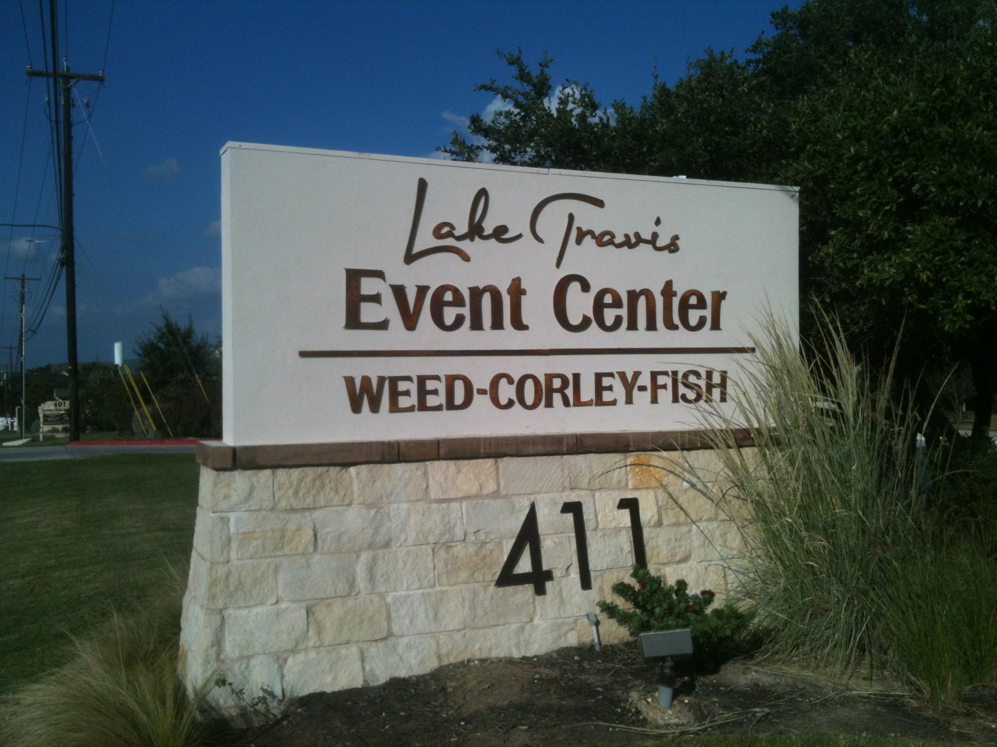 Lake Travis Event Center Monument