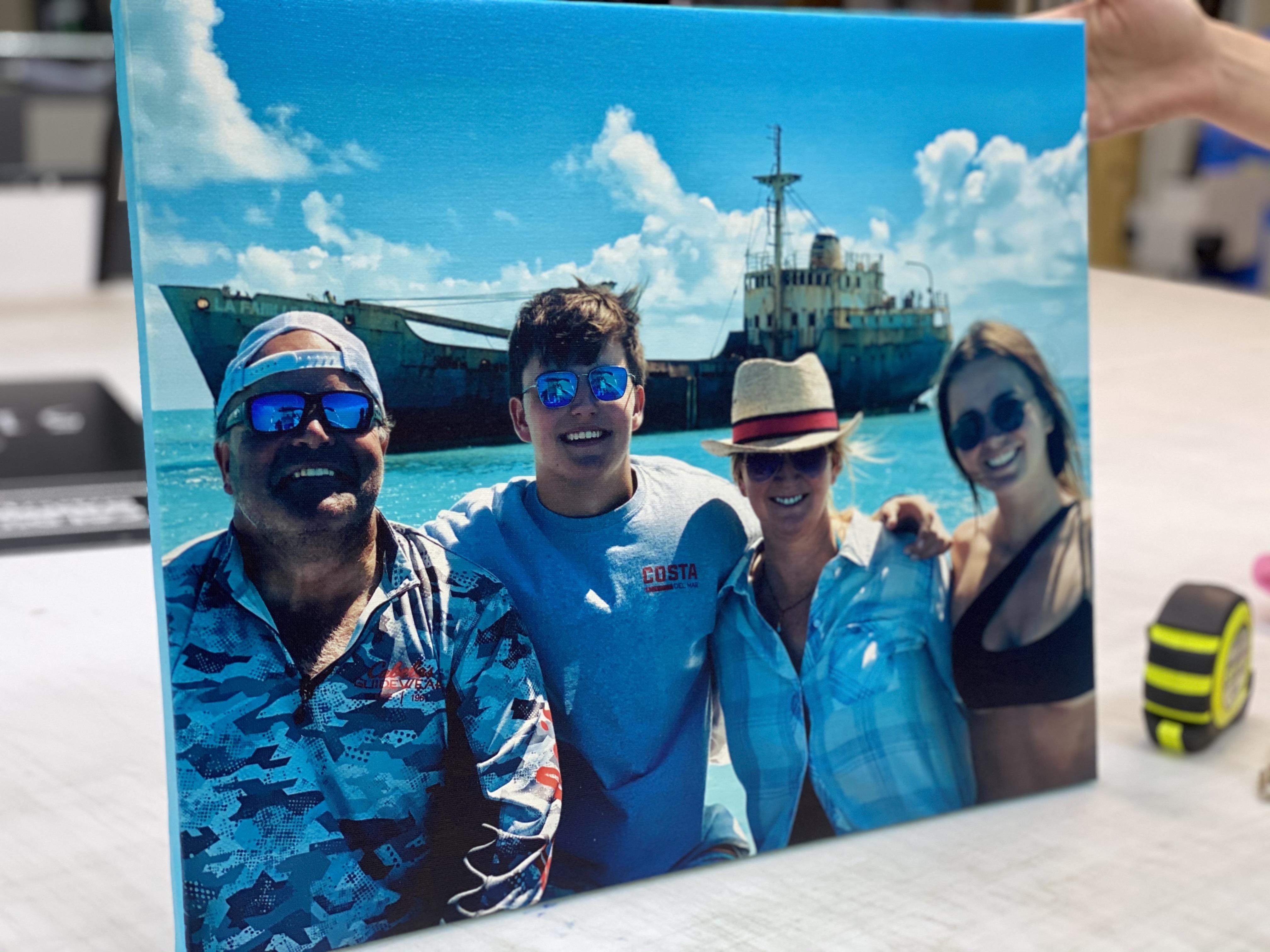 Canvas Print - Family Photo