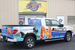 Nitro Swim Truck Wrap