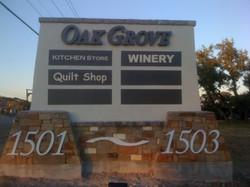 Oak Grove Multi Tenant Monument