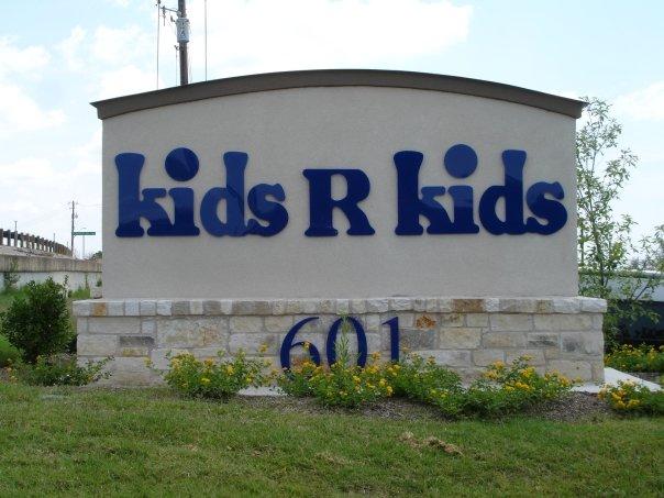 Kids R Kids Acrylic Letter Monument