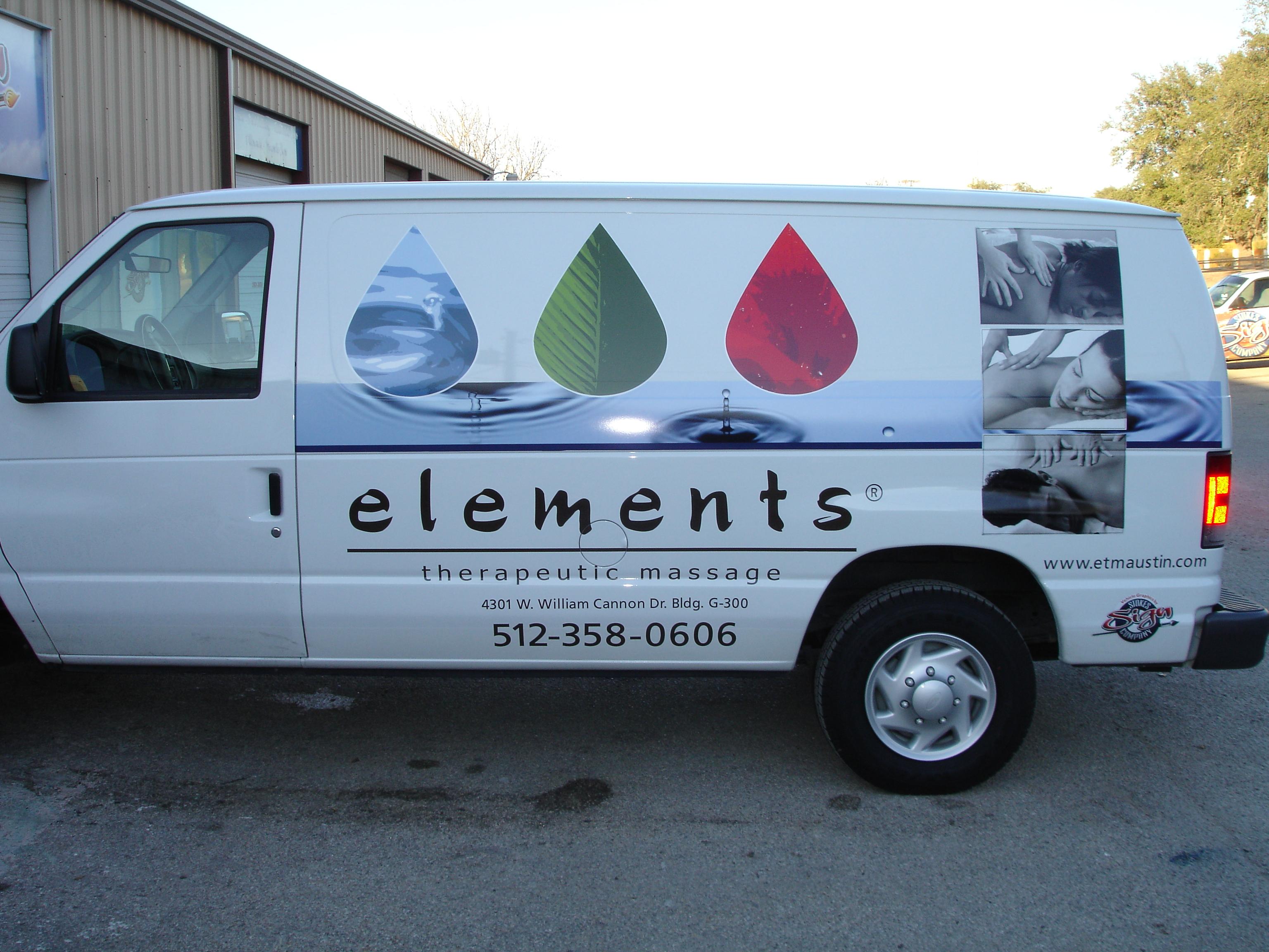 Elements Van Digital Graphics