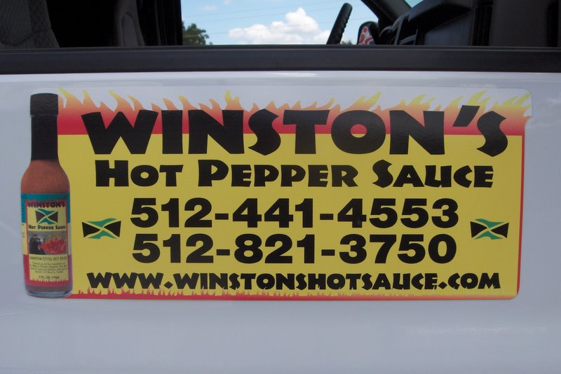 Winston's Hot Pepper Sauce - lk4700.JPG
