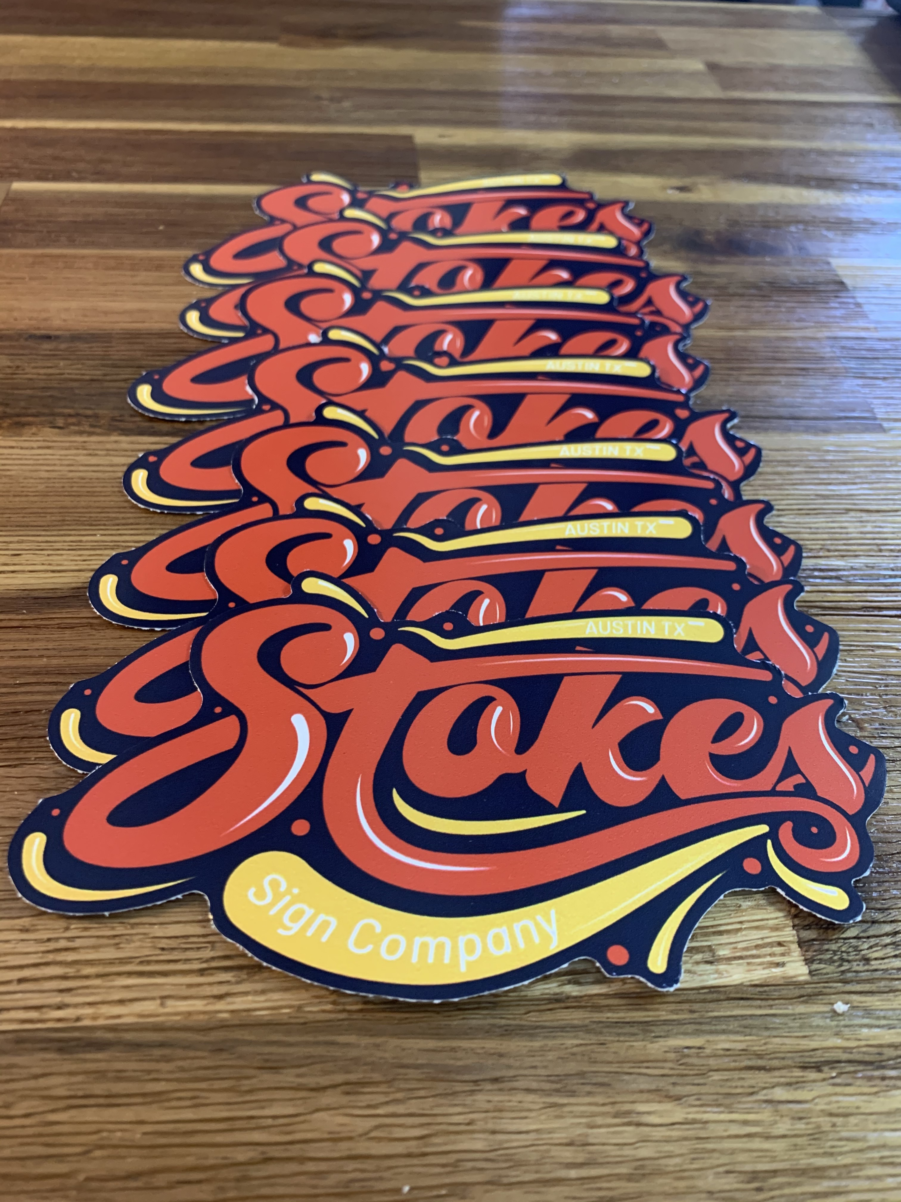 Retro Stokes Decal
