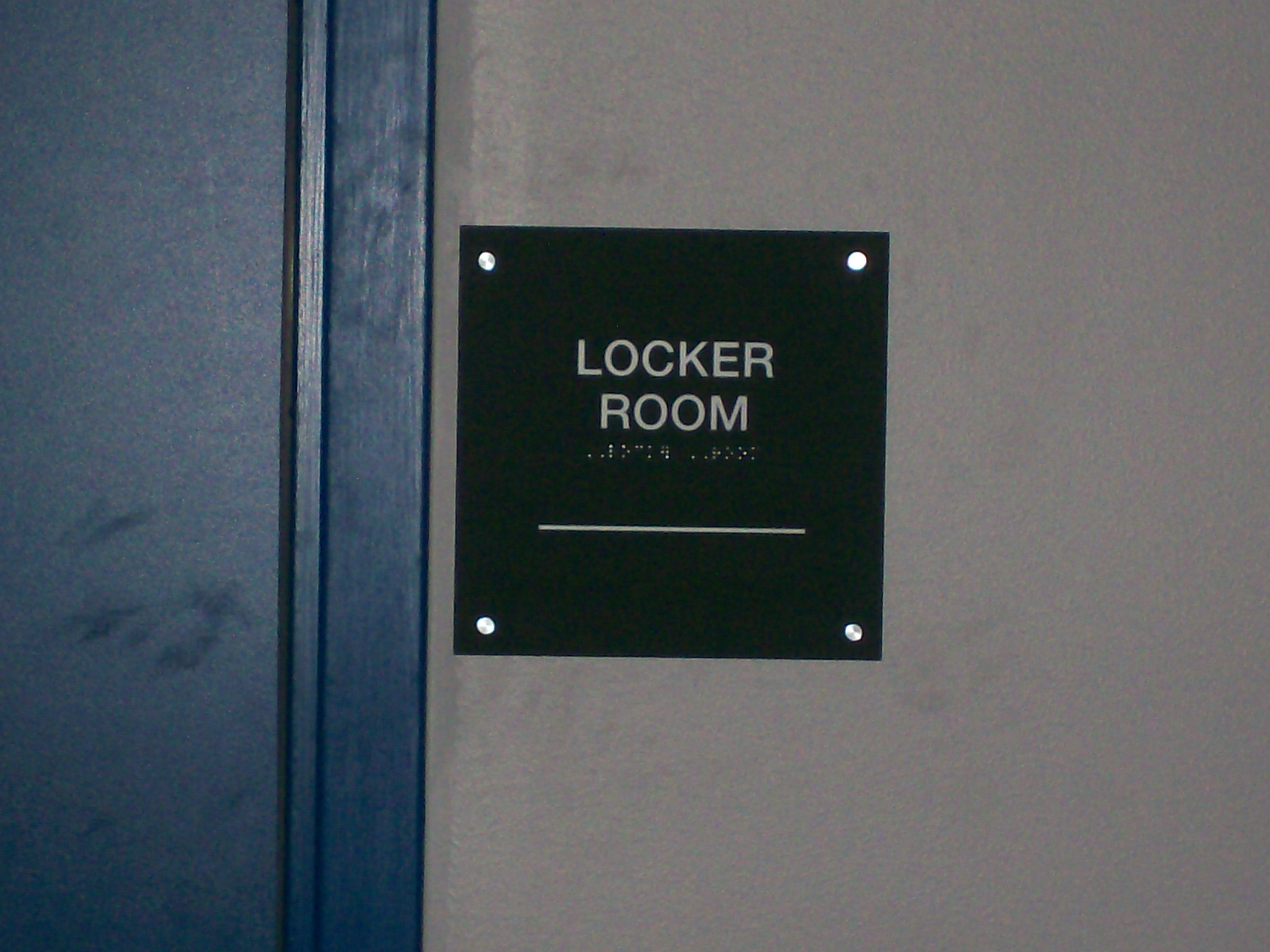 Interior - Locker Room with Braille.JPG