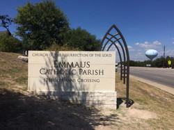 Emmaus Church Fabricated Monument