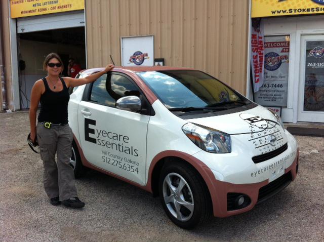 Eyecare Essentials Smart Car Vinyl