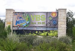 VBS Pillow Banner