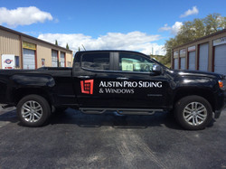 Austin Pro Siding Vinyl Application