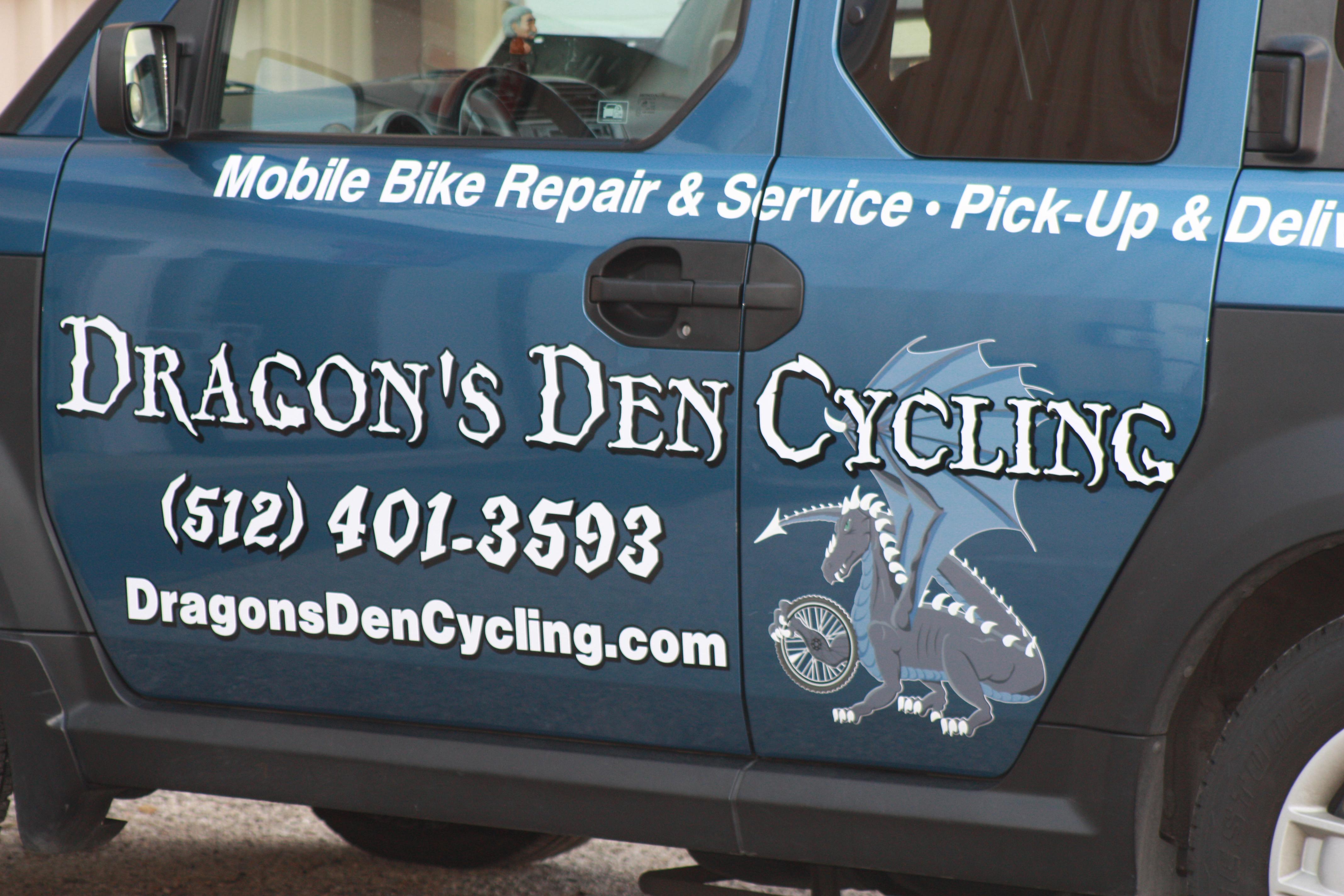 Dragon's Den Jeep Vinyl
