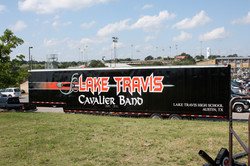 Lake Travis Trailer Lettering