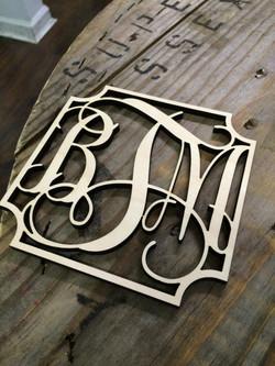 Wooden Monogram Austin Tx
