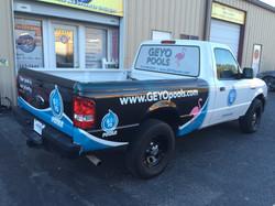 Geyo Pool Truck Bed Wrap