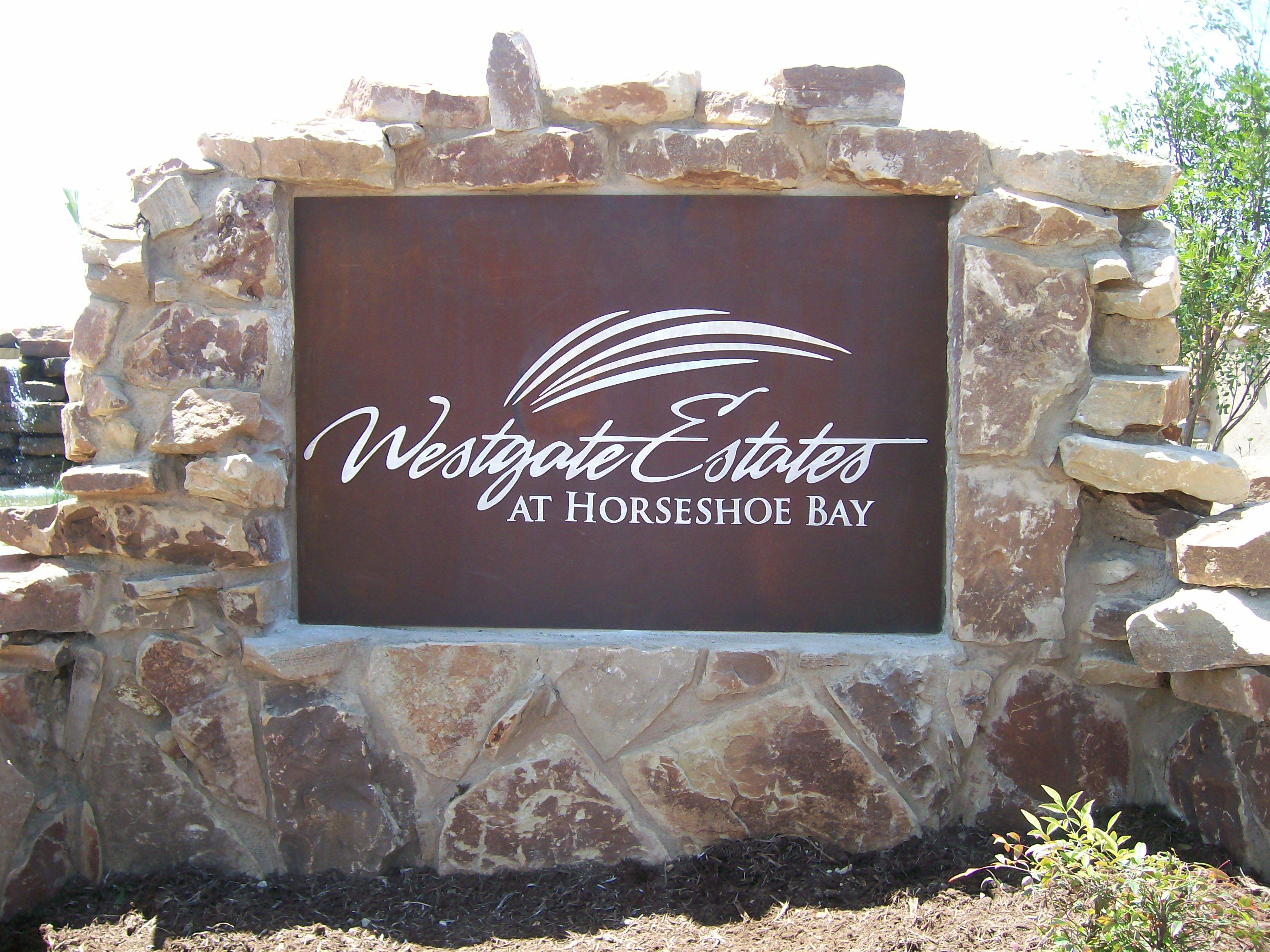 Westgate Estates Property Monument
