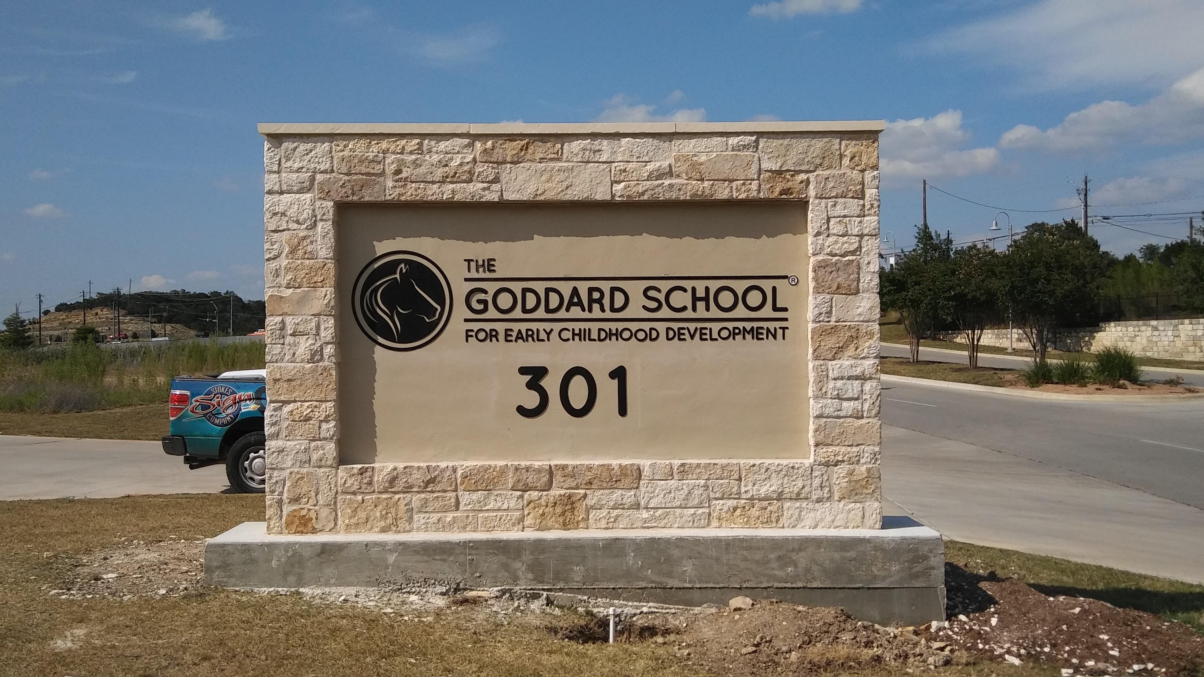 Goddard School Monument LK49451