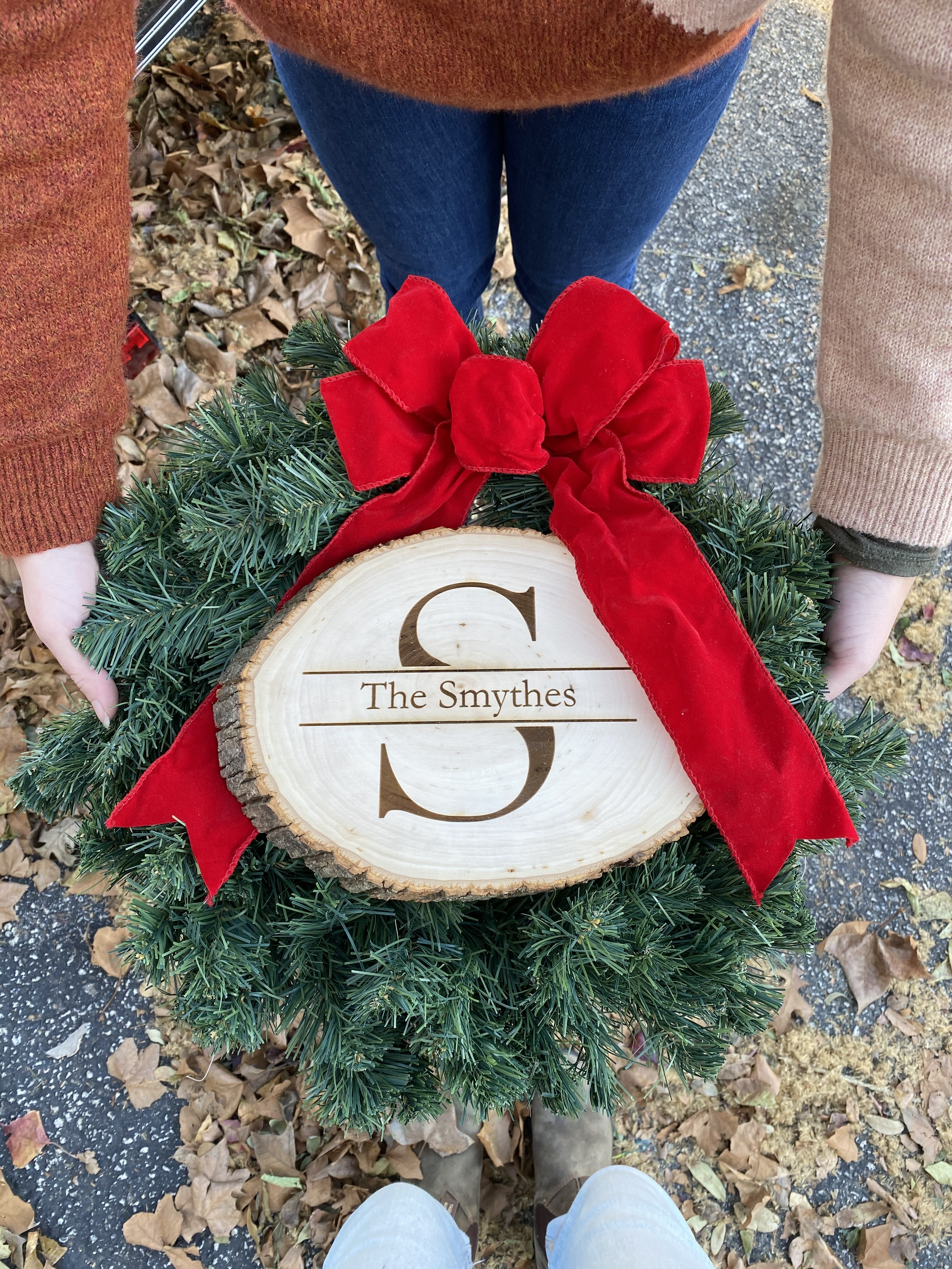 Personalized Family Name - Christmas Gif